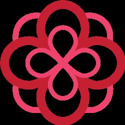 AOII infinity rose